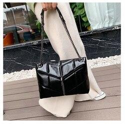 2019 sacos de ombro de corrente para mulheres bolsas de luxo bolsas femininas designer marcas famosas mensageiro senhoras bolsa de couro sac a principal