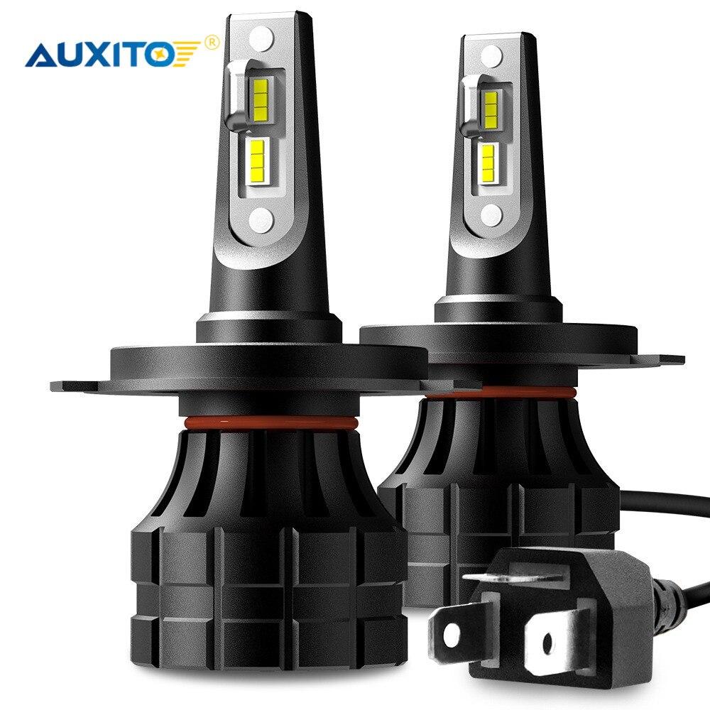 2x Canbus H7 LED H4 H11 H9 9003 LED Headlight Bulb Car Light 10000LM 6000K For VW Passat B6 B7 Beetle Golf Jetta Tiguan Touareg|Car Headlight Bulbs(LED)| |  - title=