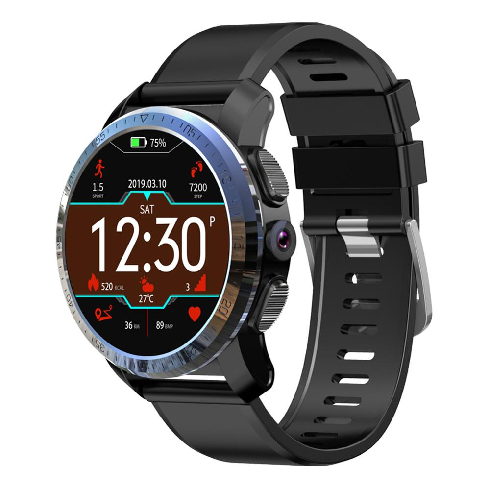 Kospet Optimus Pro Smart Watch 4G 3GB 32GB Dual Systems 8.0MP Smatwatch Android7.1.1 800mAh Battery IP67 For IOS Android  Men