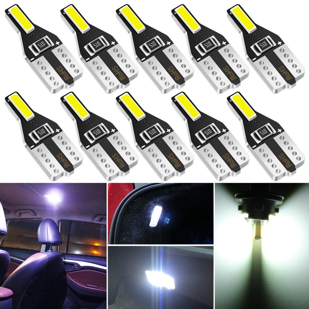 10 шт., светодиодные лампы T10 W5W для Toyota Hilux Fortuner Land Cruiser Camry 2016 2017 2018 2019|Дискодержатель|   | АлиЭкспресс