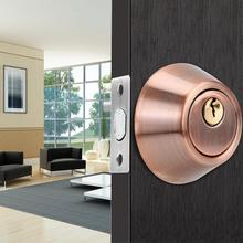 Single Cylinder Safety Anti-Theft Stainless Steel Bedroom Door Lock with Keys