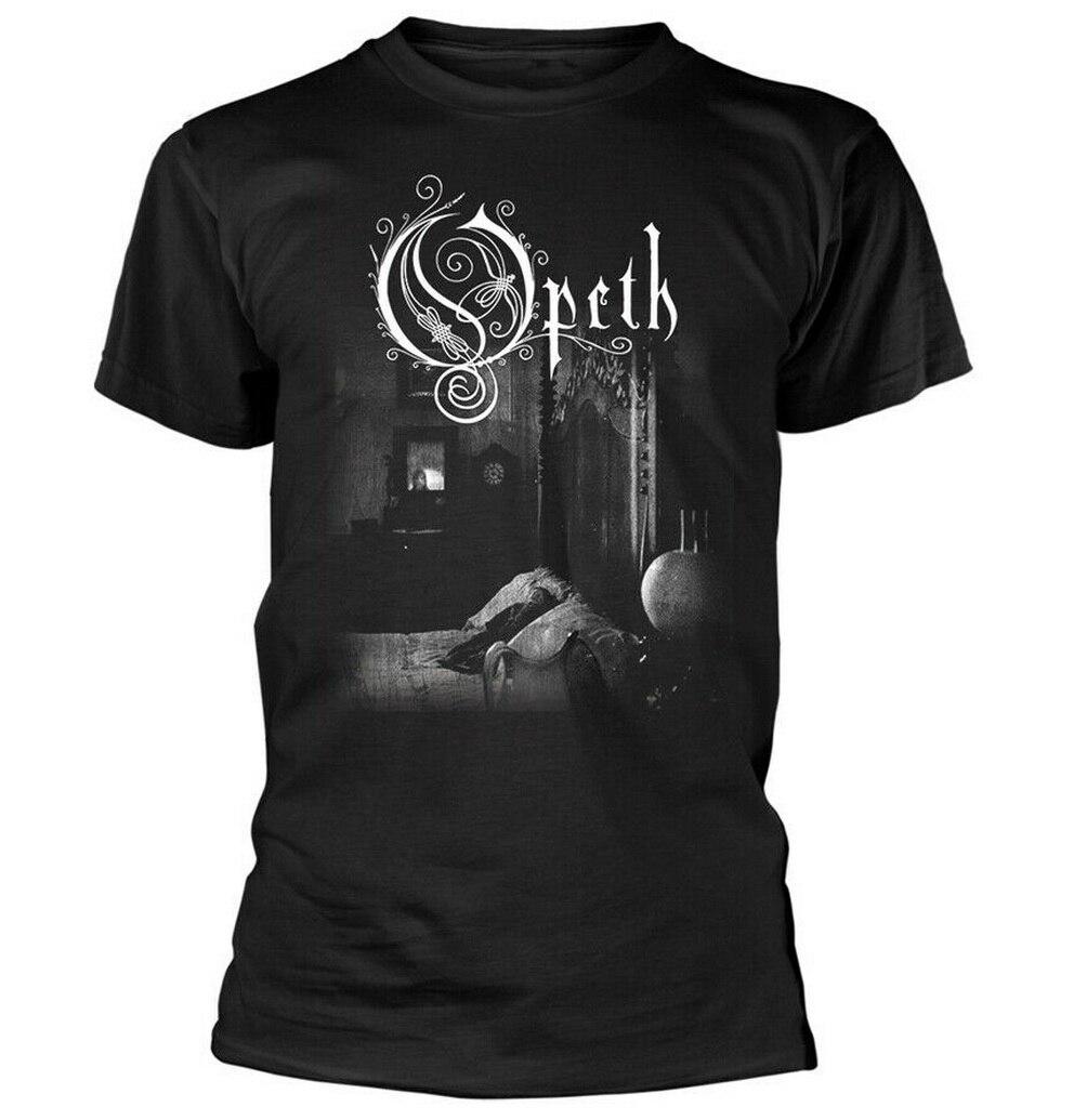 M XL Opeth Faces S 2XL Black T-Shirt L