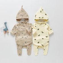 MILANCEL – ensemble de vêtements de printemps pour bébé, 3 pièces, en coton, avec chapeaux et collants pour petits garçons, 2021