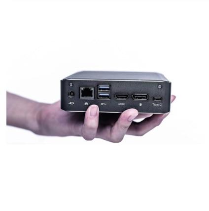 2019 New Eglobal Mini PC I7-8565U I5-8265U I3-8145U 2*DDR4 RAM NVME M.2 SSD Pocket Nuc Pc Windows 10 Pro Type-c 4K HDMI2.0 DP