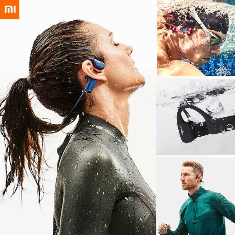 Xiaomi AfterShokz Xtrainerz AS700 Wireless waterproof earphone MP3 Player Sport hifi neckband Headphones HiFi Players  - AliExpress