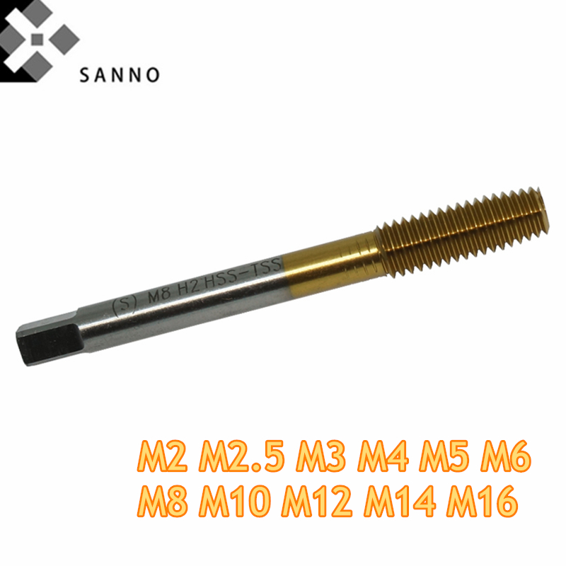 M2 M2.5 - M16 Extrusion tap HSS Co machine thread forming tap metric roll flow tap rolling wire tapping for stainless steel (1)