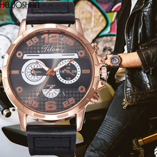 Reloj Mujer New Listing Men Watch Luxury Brand Watches Quartz Clock Fashion Leather Watch Cheap Sports Wristwatch Casual Male