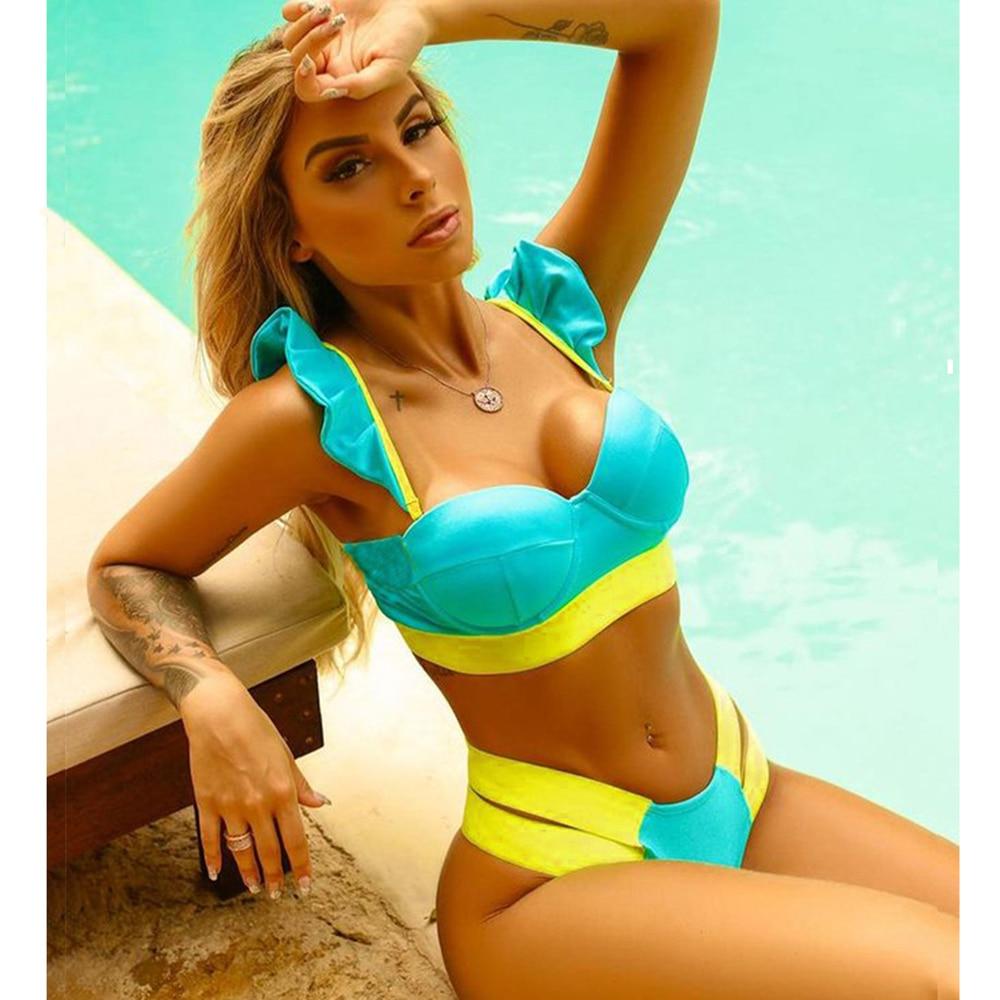 Bikini Sexy Taille Haute