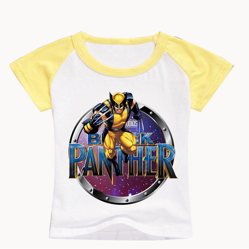 T-shirt Marvel Black Panther Enfant Créer Son T Shirt