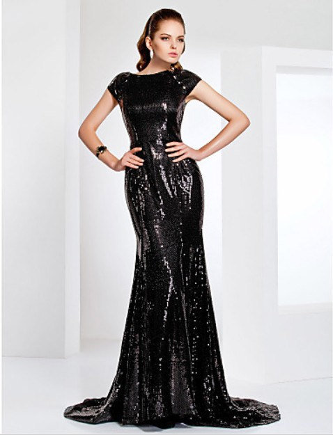 New Fashion 2018 Hot&sexy Vestidos De Festa Special Black Long Casual Women Party Elegant Evening Mother Of The Bride Dresses