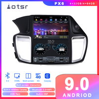 Tesla styel Android 9 Car DVD player GPS Navigation For Honda Accord 9 2012 2017 Radio multimedia palyer head unit Tape recorder