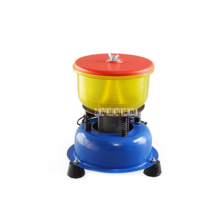 6 Inch Jade Polishing Machine Bracelet Vibration Polishing Barrel 30W Agate Jade Jade Processing Equipment Lapidary Tool 220V|Polishers| |  - title=