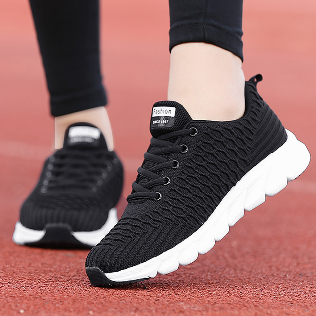 Fashion Shoebox Womens Mens Air Cushion Hiking Shoe Breathable Running Outdoor Sports Shoes Sneakers