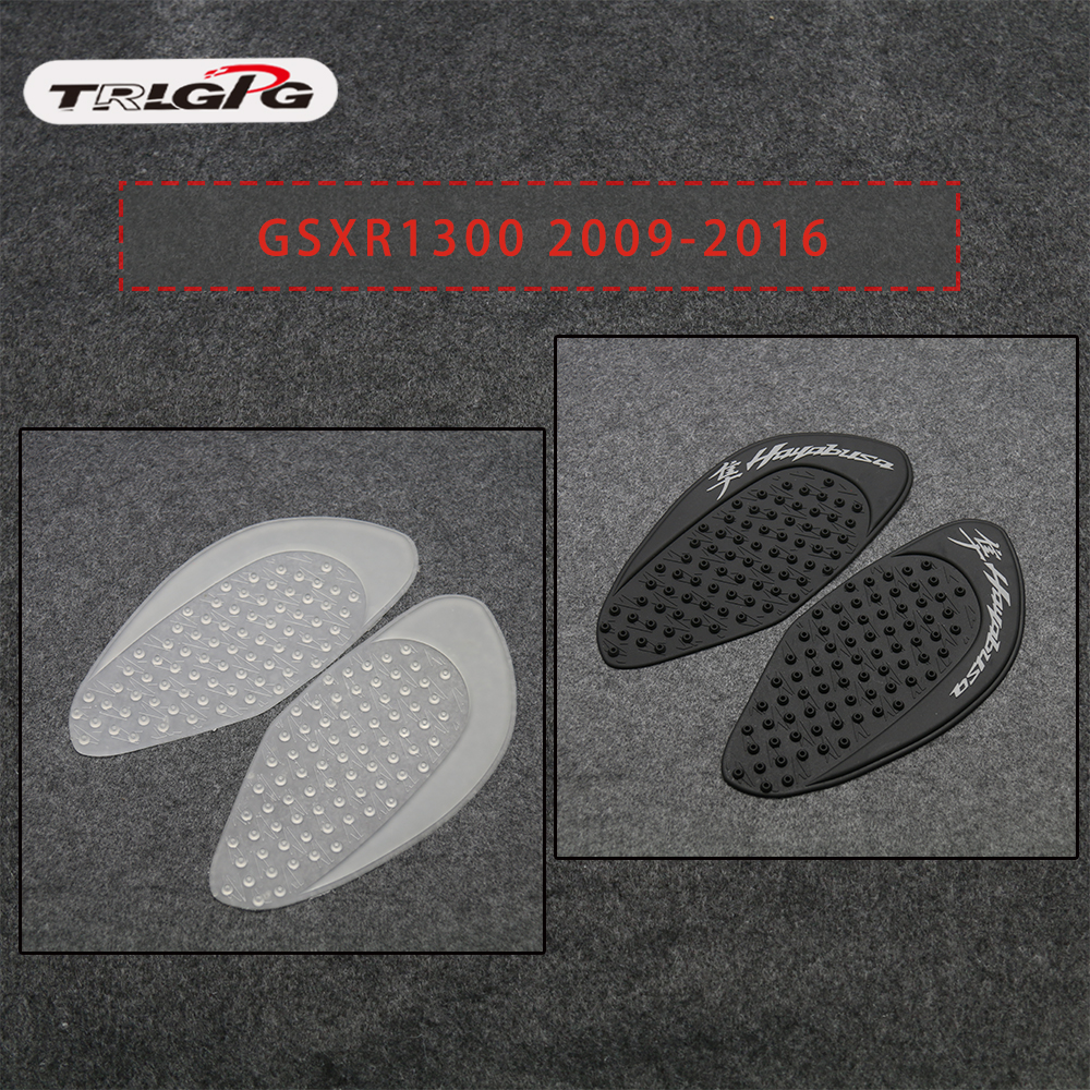 For Suzuki Hayabusa GSXR1300 2008-2016 2015 2014 2013 Protector Anti Slip Tank Pad Sticker Gas Knee Grip Traction Side 3M Decal