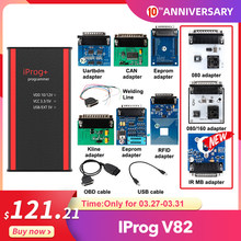 Newest Iprog+ Key Programmer Support IMMO + Mileage Correction + Airbag Reset Iprog Pro Till 2019 Replace Carprog/Digiprog/Tango(China)