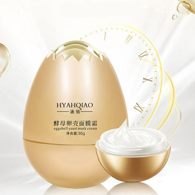 Anti Wrinkle Magical Egg Sleeping Mask Facial Yeast Eggshell Peel Off Mask Cream Hydrating Repair Face korean Skin Care Masks