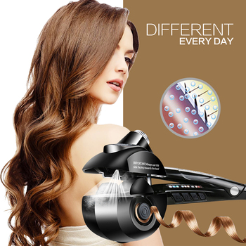 Steamer Hair Curler Styling Tools Curling Iron Tongs Wand For Hair Corrugation Women Styler Waver Professional Curling Irons