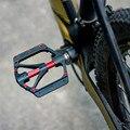 Универсальные герметичные подшипники  педали для горного велосипеда  на платформе  Нескользящие Плоские Педали из сплава