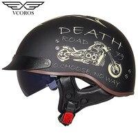 New Arrival Vcoros MT 4 Retro Motorcycle helmet Vintage open face helmet for motorcycle scooter Moto helmet Jet casco