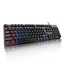 Universal Gaming Keypad Colorful Keyboard USB Wired Backligh