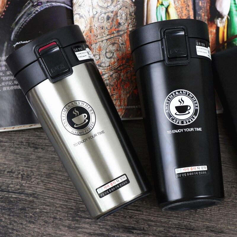 Термокружка из нержавеющей стали ZOOOBE, термос, кофейная кружка с двойными стенками, стакан, вакуумная колба, бутылка, для чая, кружка для путешествий, термокружка|Вакуумные фляги и термосы|   | АлиЭкспресс - Термосы