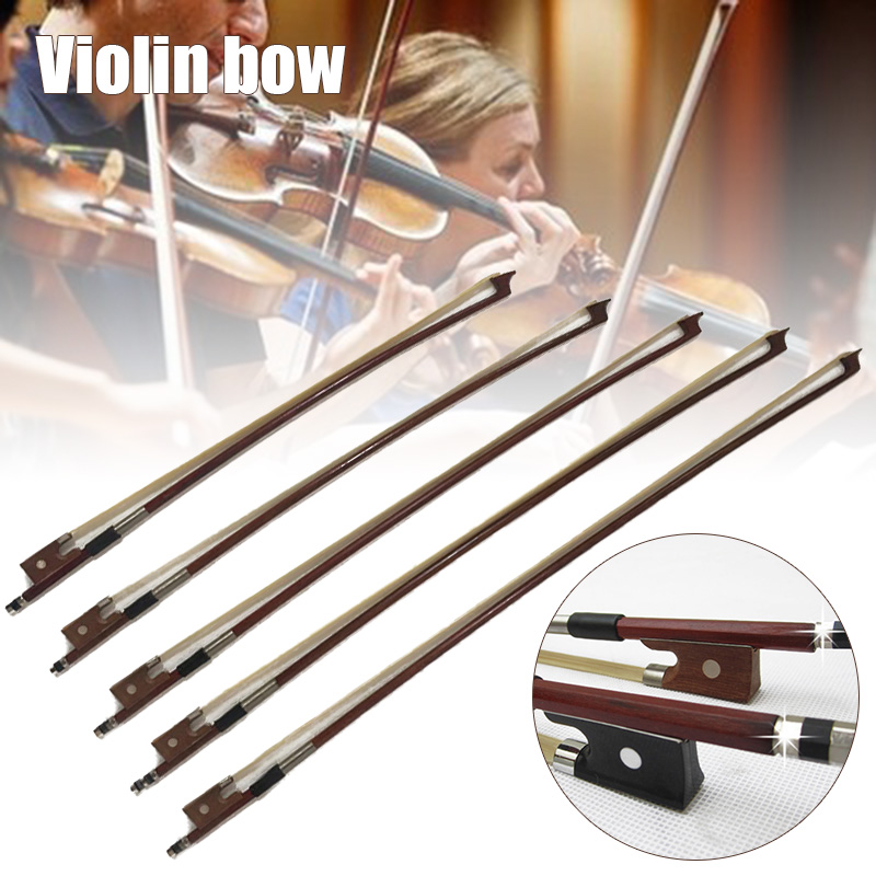 Violin Bow High Quality Material  Bow For Violins  4/4 3/4 1/2 1/4 1/8 Professional Violin Bow For Violin Player Learner