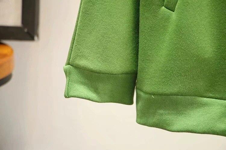 Осенне зимняя женская и Мужская бархатная толстовка на молнии, пуловер, свитшоты, одноцветная толстовка с капюшоном, унисекс, Женский пуловер, верхняя одежда - 6