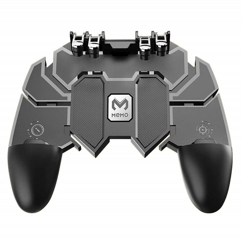 Pubg jeu Gamepad AK66 pour téléphone portable tireur déclencheur feu bouton jeu contrôleur Joystick métal déclencheur