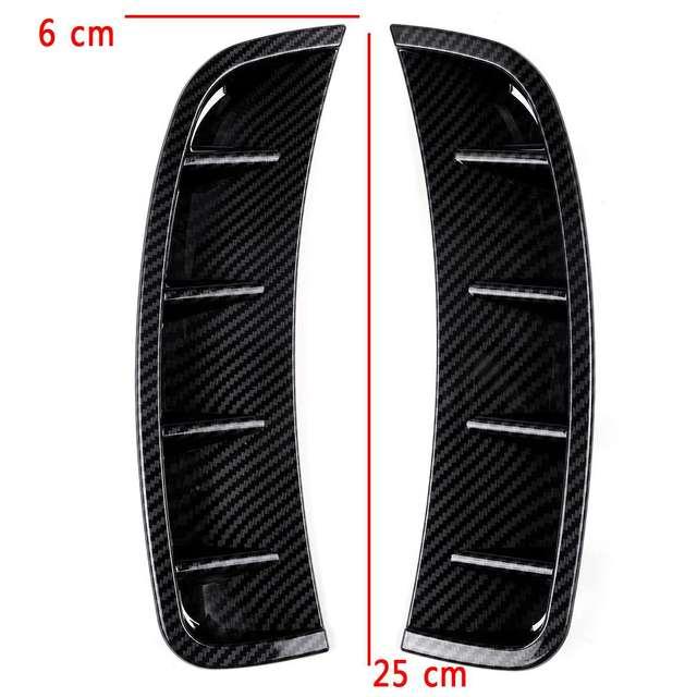 Front Bumper Side Spoiler Front Lower Bumper Lip Splitter Canard Trim For Mercedes for Benz A Class W177 A180 A200 A220 A250 19+