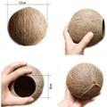 Кокосовая Скорлупа половина Кокосовая Скорлупа для рукоделия или кормушки для домашних животных