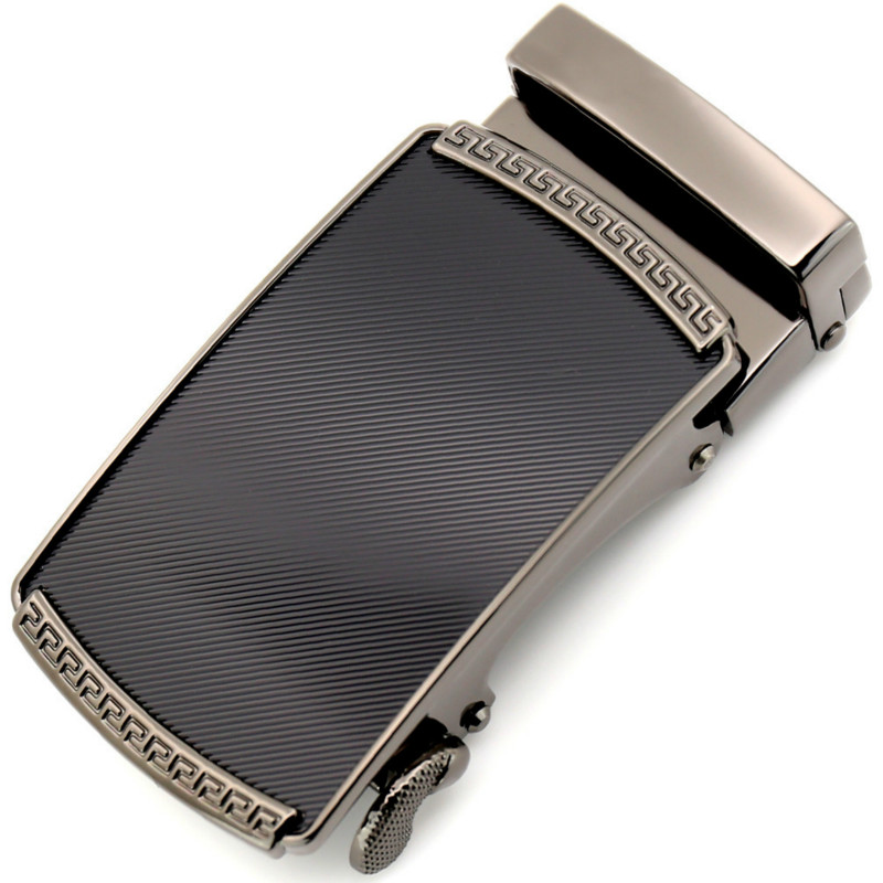 Men's Belt Head, Belt Buckle, Leisure Belt Head Business Accessories Automatic Buckle Width 3.5CM Luxury Fashion LY155-0191