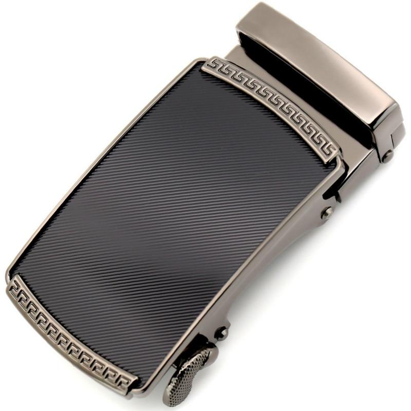 Men's Belt Head, Belt Buckle, Leisure Belt Head Business Accessories Automatic Buckle Width 3.5CM Luxury Fashion LY155-0191