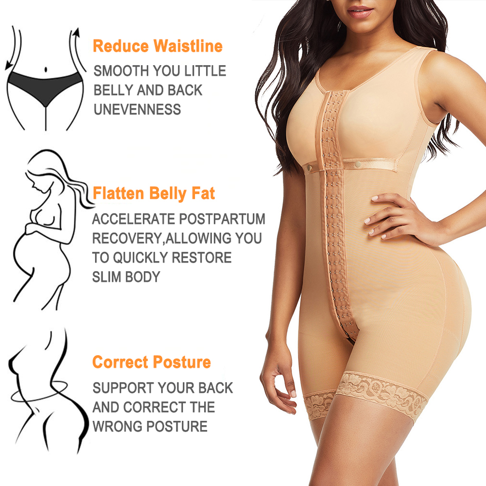 Lover-Beauty Full Body Shaper Slimming Belt Girdle 2