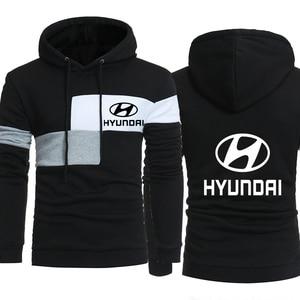 Men Hoodies Hyundai Motor Car Fashion Lo