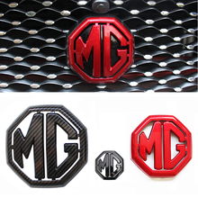 2017-2019 Plastic Emblem for Morris Garage MG ZS MG6 Steering Wheel Tail Front Grille Sticker Decal Cover Vehicle Accessories