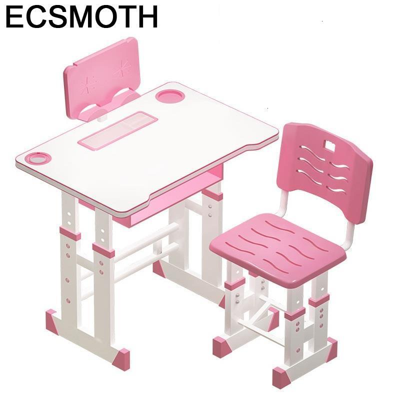 Infantiles Estudo Mesa De Estudio Pupitre Infantil Children Cocuk Masasi And Chair Adjustable Bureau Enfant Study Table For Kids