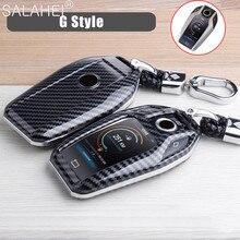 Abs Auto Volledig Key Case Led Display Key Cover Case Voor Bmw 5 7 Serie G11 G12 G30 G31 G32 i8 I12 I15 G01 X3 G02 X4 G05 X5 G07 X7