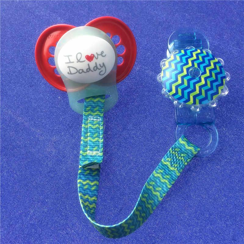 Chenkai 50 Uds silicona transparente O anillos DIY Baby Dummy MAM clips de cadena de chupete adaptador titular O anillos grado alimenticio libre de BPA