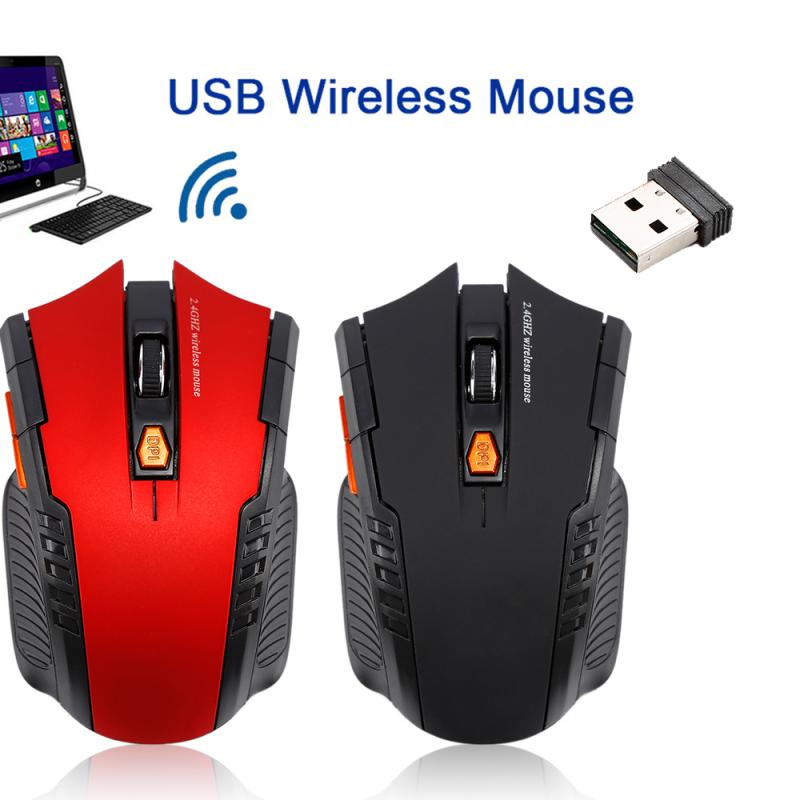 Newly 2.4GHz Wireless Optical Mouse Gamer New Game Wireless Mice With USB Receiver Mause For PC Gaming Laptops 2019