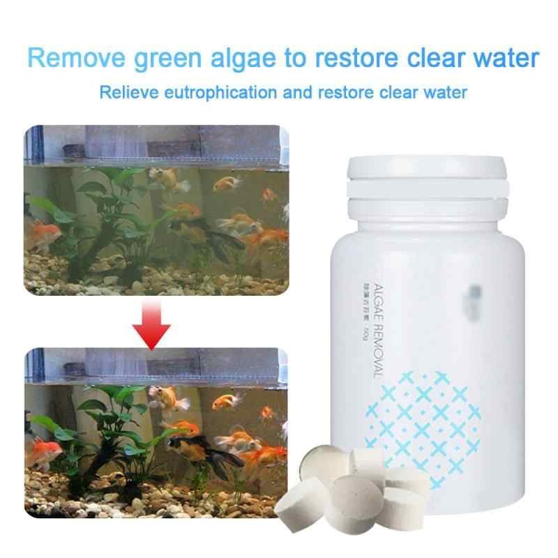 Mới Đa Năng Bụi Bể Cá Algaecide Thủy Sinh Tảo Điều Khiển Tảo Chất Tẩy Thanh Lọc Nước Gia Đình Hóa Chất