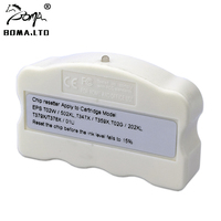 BOMA. LTD T02W 502XL Original Resetter Chip Para Cartuchos EPSON WF 2860DWF WF 2865DWF XP 5100 XP 5105 XP 15010 XP 15080 Impressora|Peças de impressora| |  -