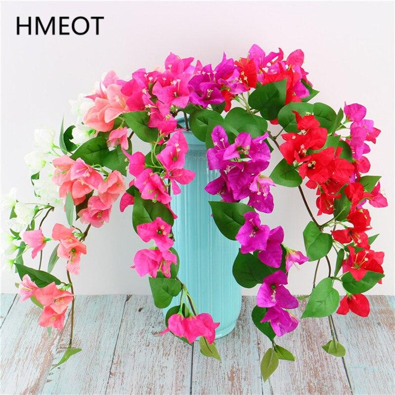 HMEOT hohe qualität simulation blume 78cm bougainvillea gefälschte blume hochzeit wohnzimmer dekoration Blume anordnung