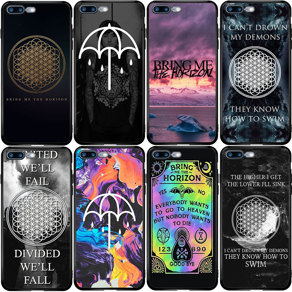 BMTH Bring Me The Horizon Cover Case For Xiaomi Redmi Note CC9 10 9 9S 9T 8 8T 8A 7A 6A 5 5A 5X A1 A2 Pro Max Mix 3 2S Lite Plus
