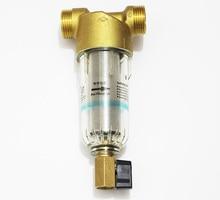 "1 ""zoll interface Kupfer Port Reiniger Filter Haushalt Ganze Haus Wasser Filter Rohre Zentrale Wasserfilter Entkalkung"