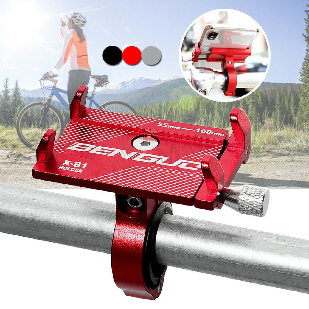 Alloy Bike Handlebar For Cell Phone GPS Mount Aluminum Bicycle Holder