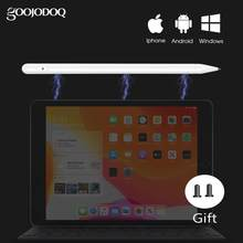 GOOJODOQ pour Apple crayon 1 2 stylet universel crayon pour iPad 2018 Air 2 iPad Pro 11 12.9 crayon tablette stylo IOS Android(China)