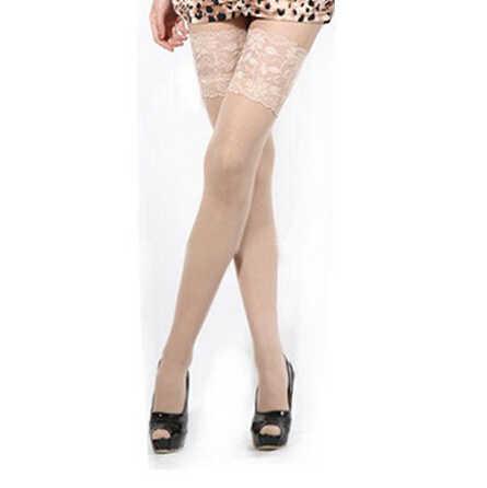 מכירה לוהטת גברת מועדוני לילה נשים המניה אופנה תחרה סקסית גרב להישאר עד ירך גבוהה גרביים