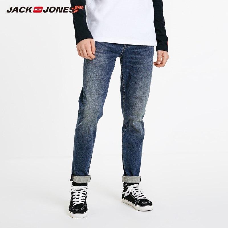 JackJones Men's Autumn&Winter Casual Slim Fit Fashion Jeans Menswear| 219132580