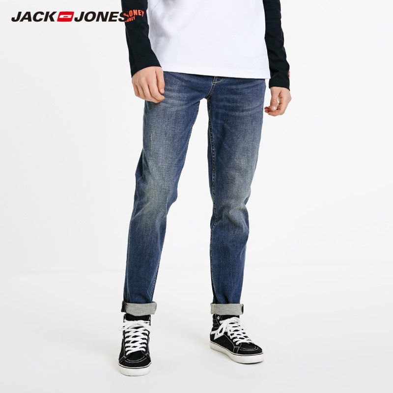 JackJones Men's Autumn&Winter Casual Slim Fit Fashion Jeans Menswear Basic| 219132580