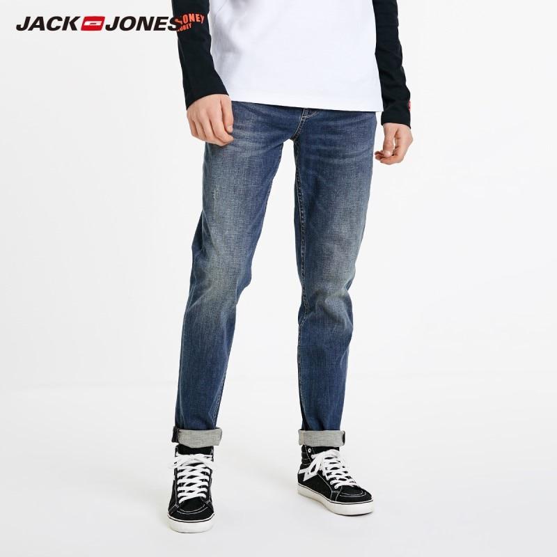 JackJones Men's Casual Slim Fit Fashion Jeans Menswear Basic| 219132580